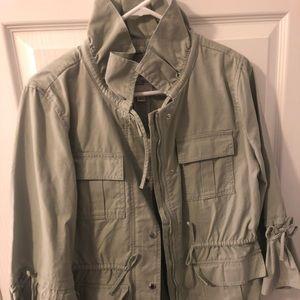 Sage Green Banana Republic Jacket